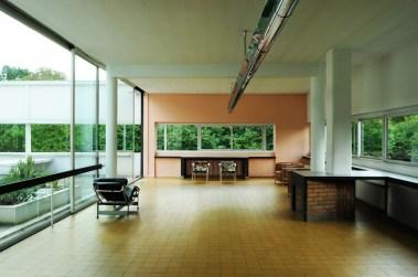Interior Ville Saboye, Le Corbusier.