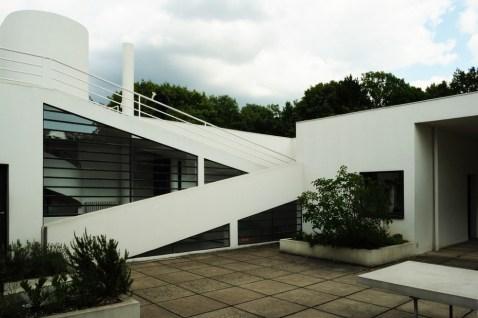 Patio interior Ville Saboye, Le Corbusier.