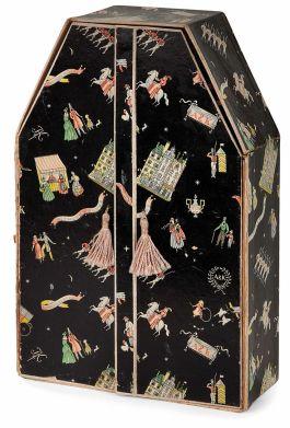 Cofre de joyas en cartón diseñador por Dagobert Peche
