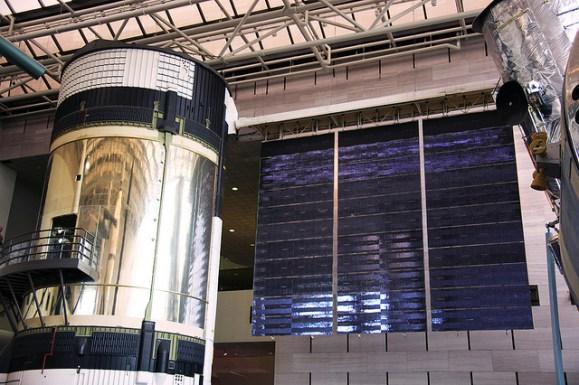 El diseñador fue el responsable del interior del Skylab.
