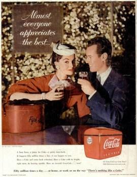 En 1955, firmó el rediseño de la identidad corporativa de Coca Cola, adaptando letras y creando botellas de mayor tamaño.