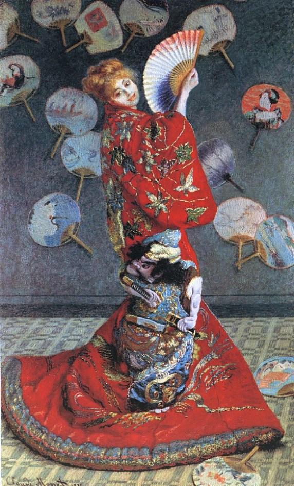 La japonesa, Claude Monet