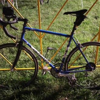 Bike on a fence
