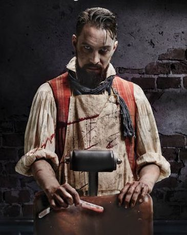 Sweeney Todd Derby Theatre 2016 Joseph Attenborough