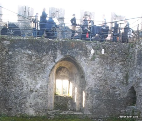 Of course if you are going to Blarney Castle you have to at least see the Blarney stone. You may not feel like kissing the thing but just seeing it launches you into the story of the Blarney Witch