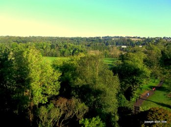 The Castle Park Taken from the top of Blarney