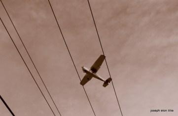 Flying between trhe narrow wires