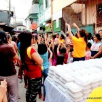 Feeding & Gift-Giving Outreach: Children @ Malabon City.