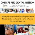 Medical Mission: JFM Dental & Optical Mission