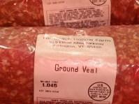 Ground Veal 1