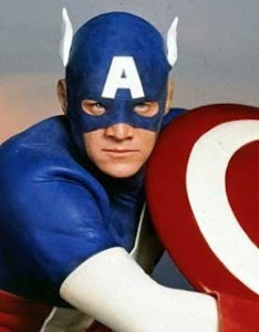 April 23, 2012: The Supermovie Of The Week Club Reconvenes!  Cookie Monster Reviews Captain America (1990)!