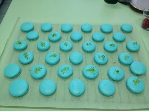 April 10, 2012: Getting My Macaron Fix!  Full Preview Dark Matter #4!