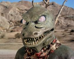 Mr. Gorn be ready for his close-up.