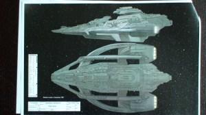 Alien ship design.