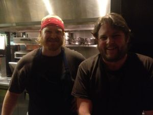 Chef Nathan and Chef Ted