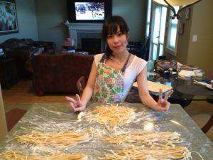 Our pasta haul