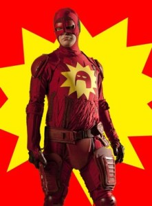 Wow, the Flash really let himself go.