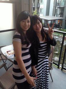 Hazuki and Akemi