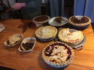A plethora of pies