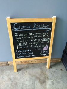 September 3, 2014: Crackle Creme!