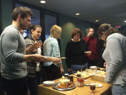November 28, 2014: Operation Wine & Cheese!