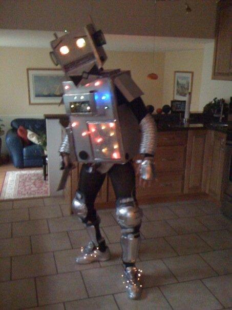 November 9, 2014: Seeking Actor/actress With Own Robot Suit!