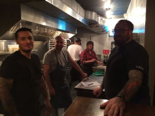 November 2, 2014: Chef Rob Belcham In Town!  Special Dinner At Porzia!