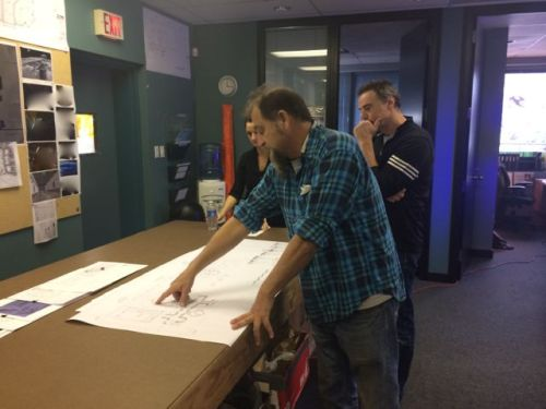 November 19, 2014: Introducing Dark Matter Production Designer Ian Brock!