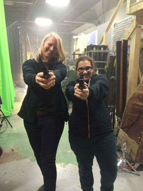 January 23, 2015: Our Dark Matter Girls With Guns Pictorial!