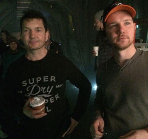 January 10, 2015: Dark Matter, Episode #101, Second Unit Day #1!