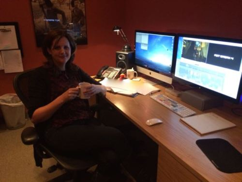 February 11, 2015: Introducing Dark Matter Editor Wendy Hallam Martin!  Amanda Tapping Takes The Directing Reins!
