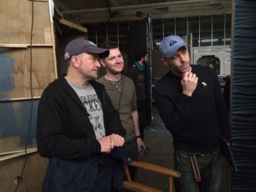 April 1, 2015: Scenes From Set!