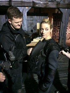 May 18, 2015: The Dark Matter Rollout!  Introducing Zoie Palmer As The Android!