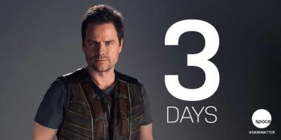June 9, 2015: 3 Days To The Dark Matter Premiere!  Videos!  Pics!  Our Hero Ship!