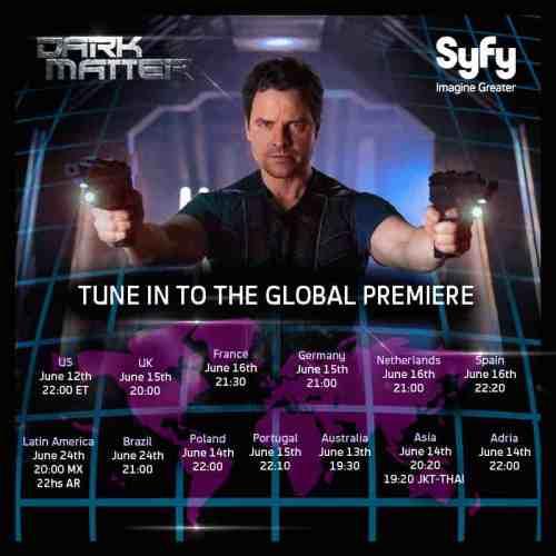 Dark Matter Global Premiere Dates