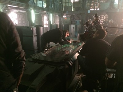June 6, 2015: 6 Days To The Dark Matter Premiere!  Sneak Peek And Behind The Scene Goodies!