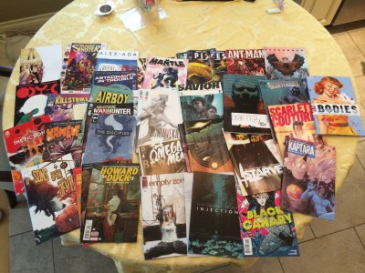 June 21, 2015: Dark Matter Links!  Comic Book Recommendations!  And The Need To De-stress!