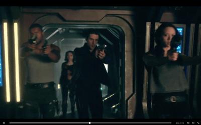 June 6, 2015: 6 Days To The Dark Matter Premiere!  Sneak Peek And Behind The Scene Goodies!