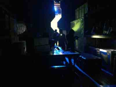 July 24, 2015: Dark Matter Episode 107 Behind The Scenes Pics!
