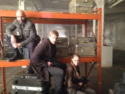 August 14, 2015: Behind The Scenes On Dark Matter Episode 10!