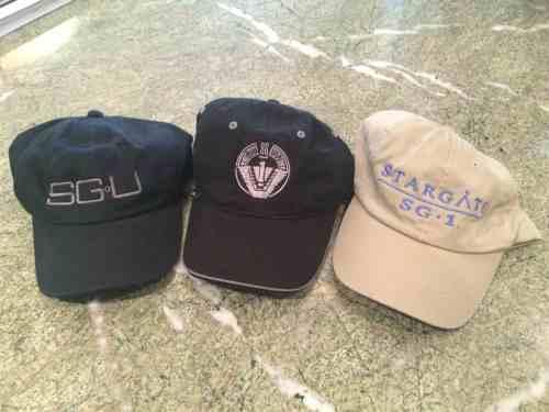 September 28, 2015: Stargate Caps Giveaway!  Sg-1!  Sga!  Sgu!