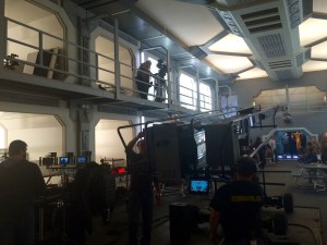 December 15, 2015: Dark Matter Episode 201!  Production Continues!