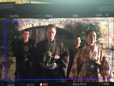 April 22, 2016: Bts Pics!  And Pineapple!