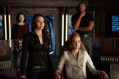 "August 12, 2016: Tonight On Dark Matter: ""she's With Them Now""!"
