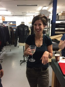 November 3, 2016: Checking In With The Dark Matter Wardrobe Department!