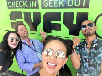 July 20, 2017: Heads Up!  Dark Matter At Sdcc!