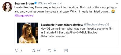 March 11, 2018: Our Massive Online Stargate Reunion!