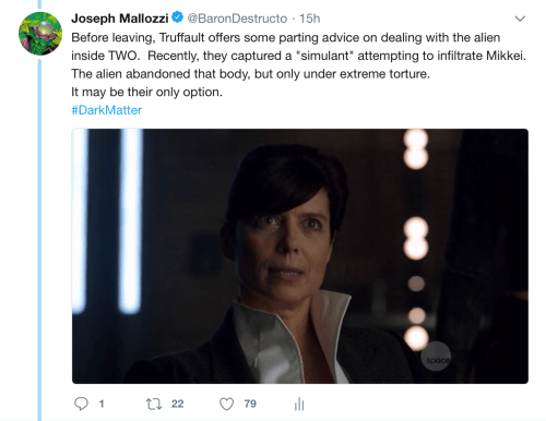 May 19, 2018: Dark Matter Virtual Season 4 – Episode 4.01, Act 3!