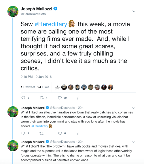 June 10, 2018: Hereditary And Housecleaning!