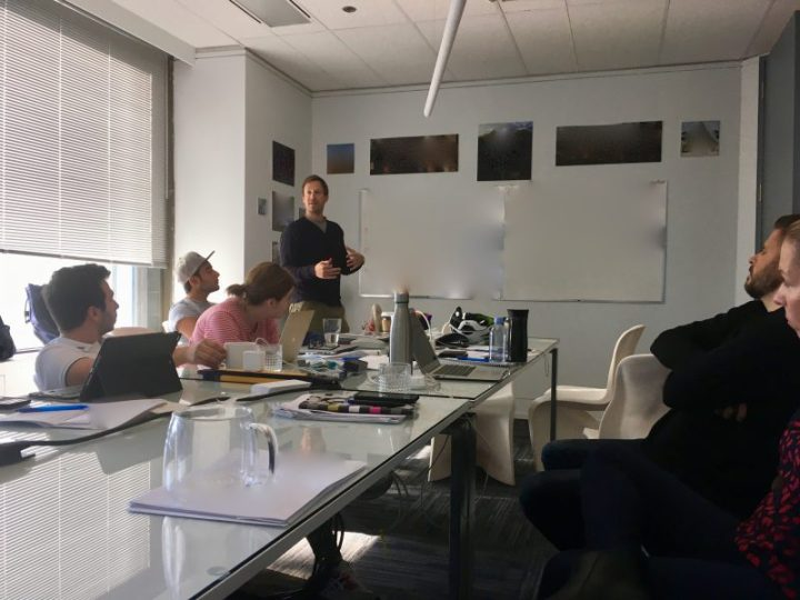 A Sneak Peak Inside The U.f. Writers' Room – Part 1!